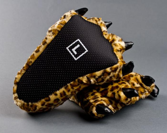 Leopard Paw Slippers 3