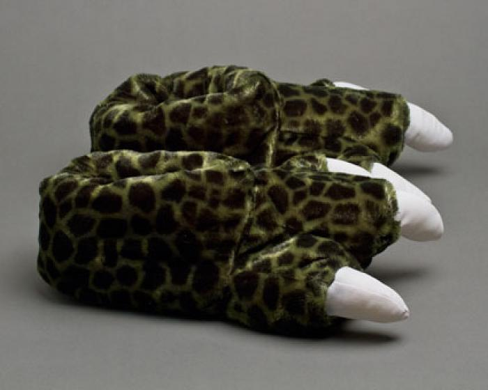 Dinosaur Feet Slippers With Sound 2