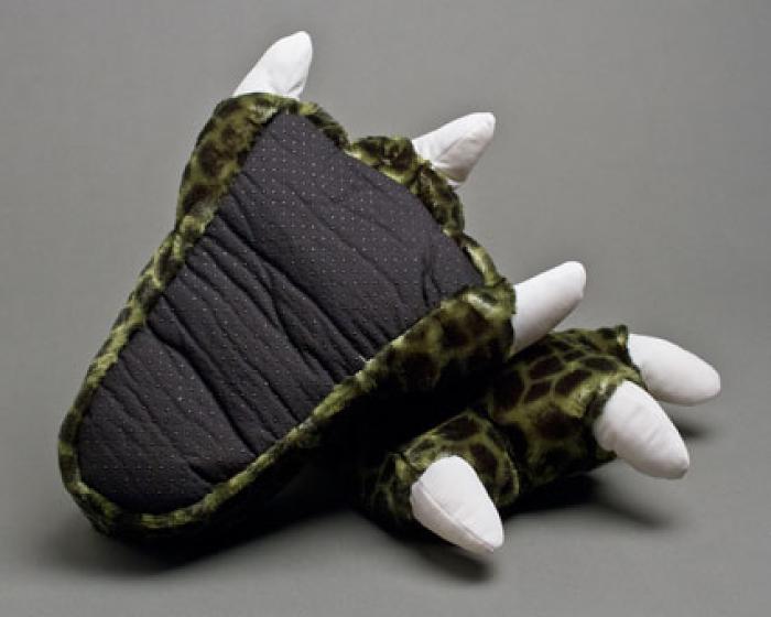 Children's Dinosaur Feet Slippers With Sound 3