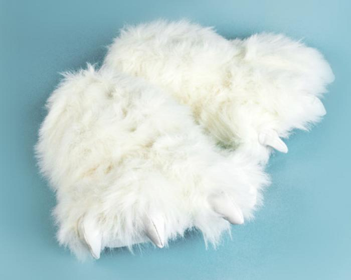 Polar Bear Paw Slippers 1