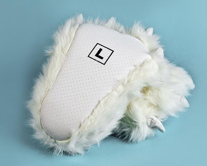 Polar Bear Paw Slippers 3