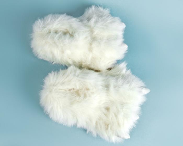 Polar Bear Paw Slippers 4