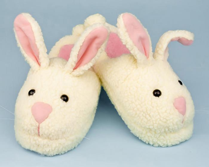 Adult Classic Bunny Slippers 1