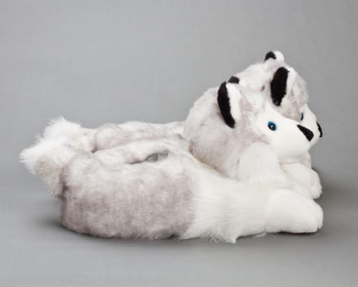 Husky Dog Slippers 2