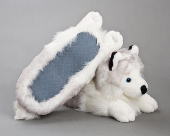 Husky Dog Slippers 3