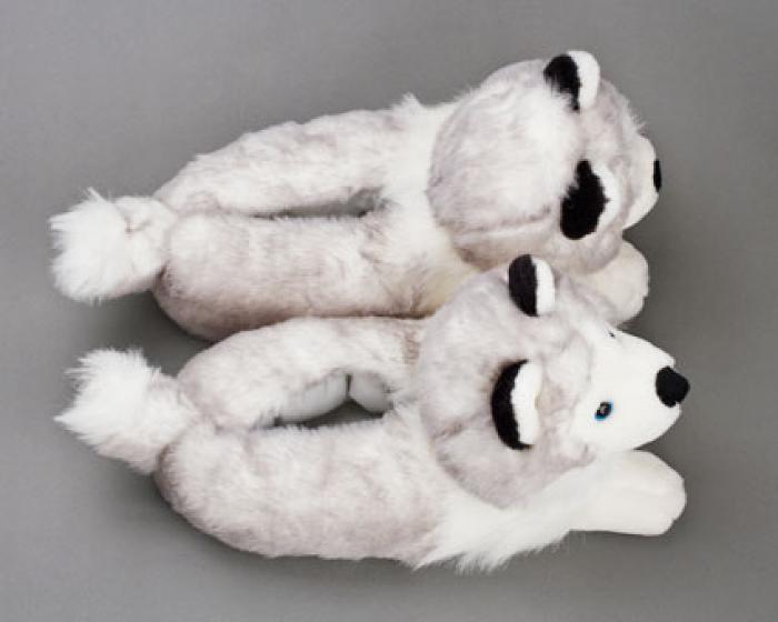 Husky Dog Slippers 4