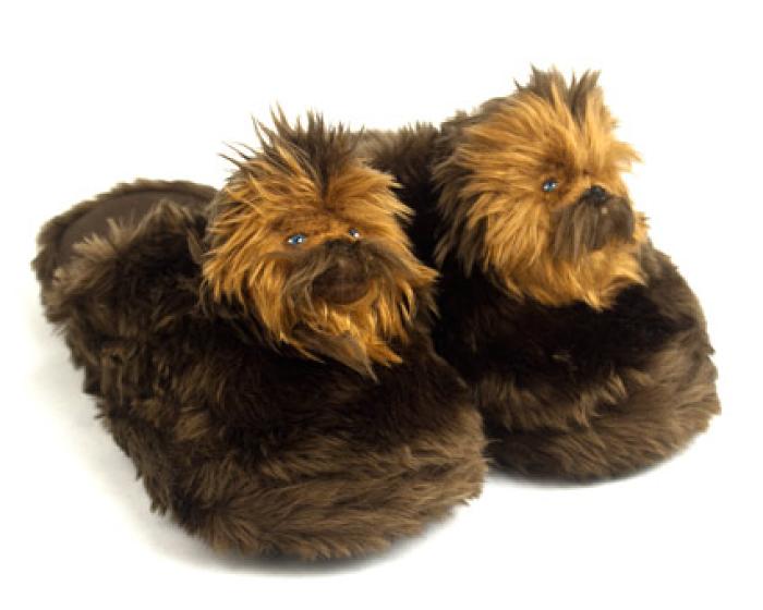 Chewbacca Slippers 1