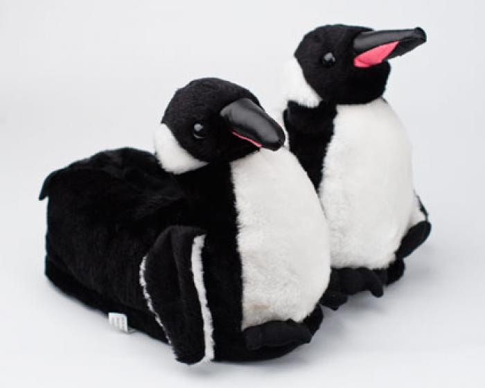 Penguin Slippers 3/4 View