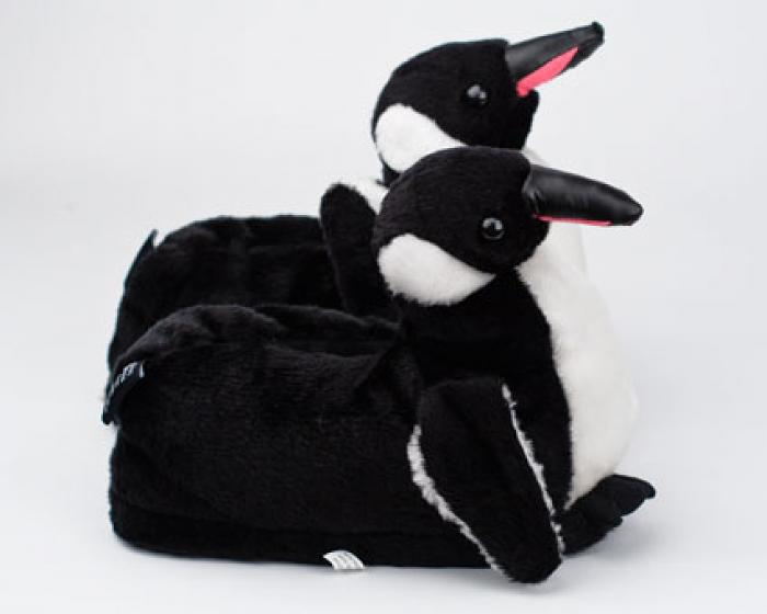 Penguin Slippers Side View