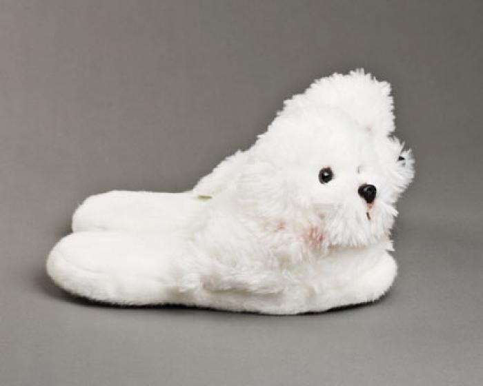 Bichon Frise Dog Slippers 2