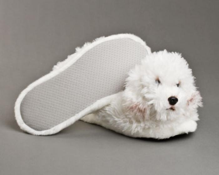 Bichon Frise Dog Slippers 3