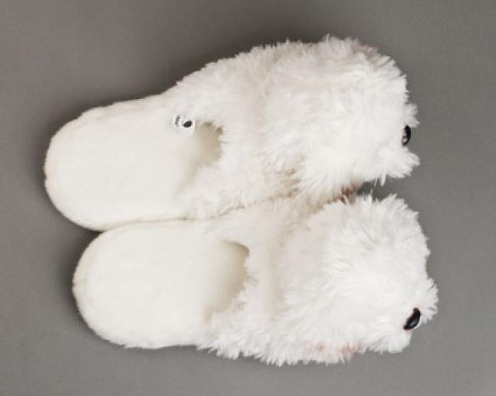 Bichon Frise Dog Slippers 4