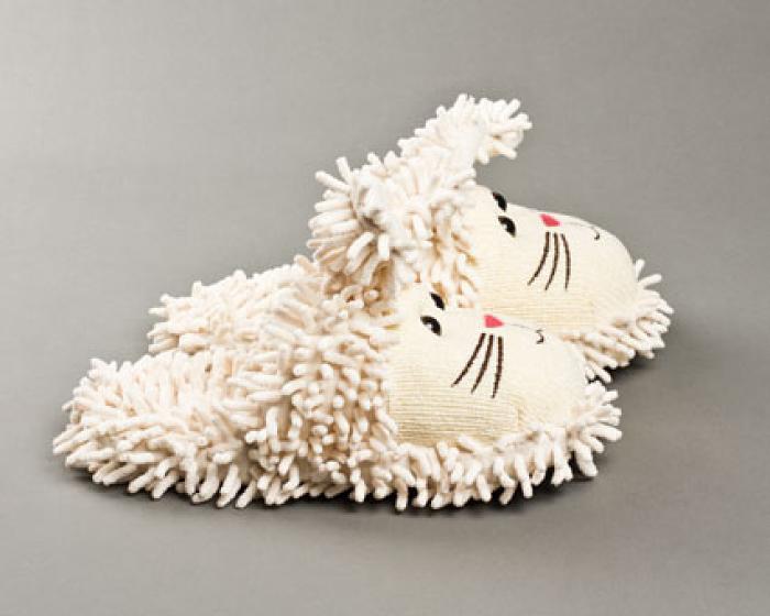 Fuzzy Bunny Slippers 2