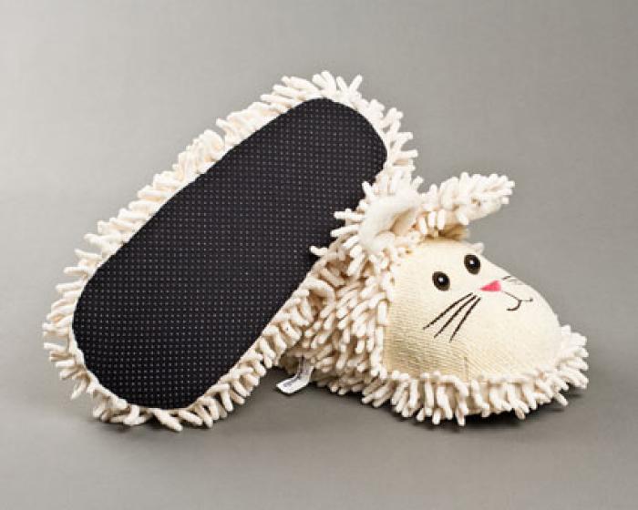 Fuzzy Bunny Slippers 3