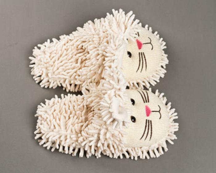 Fuzzy Bunny Slippers 4