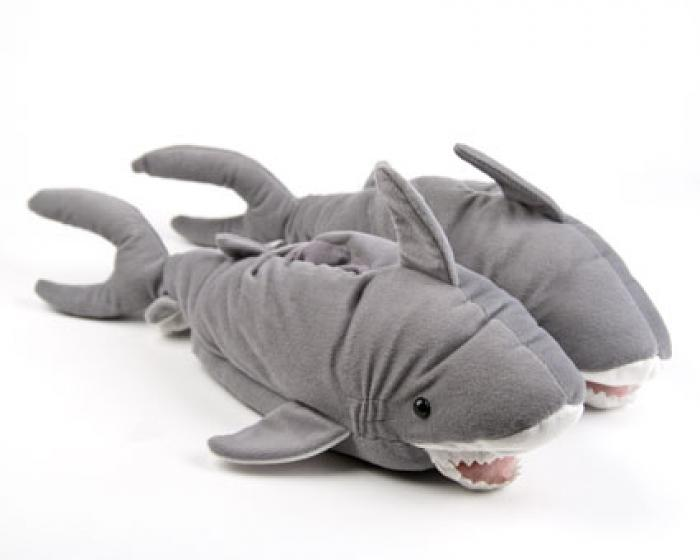 Shark Animal Slippers 1