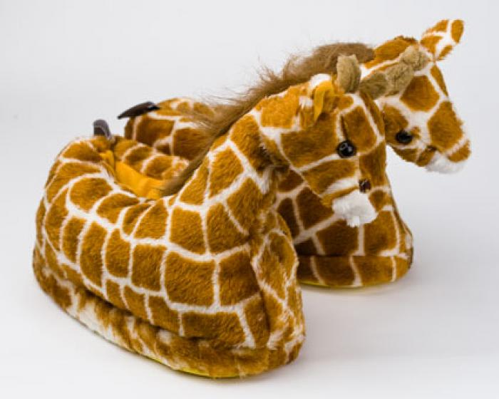 Giraffe Slippers 1