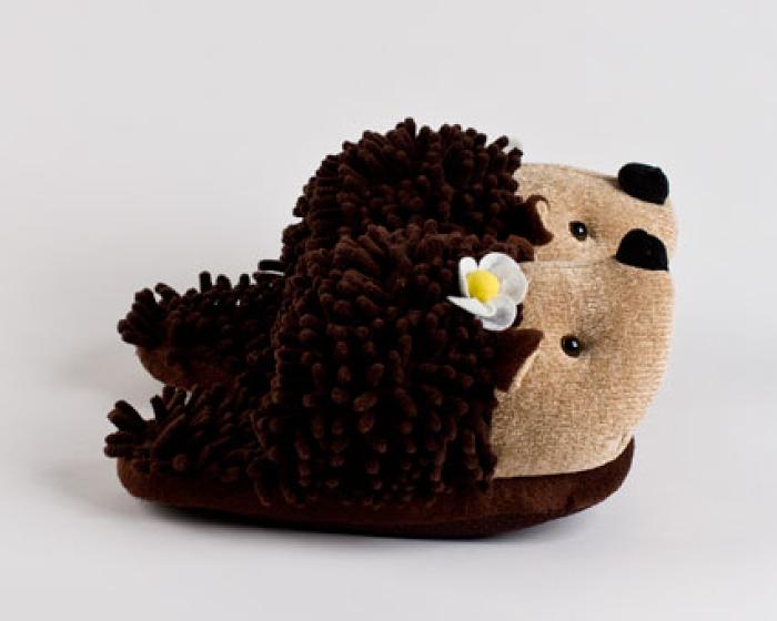 Kids Hedgehog Slippers...