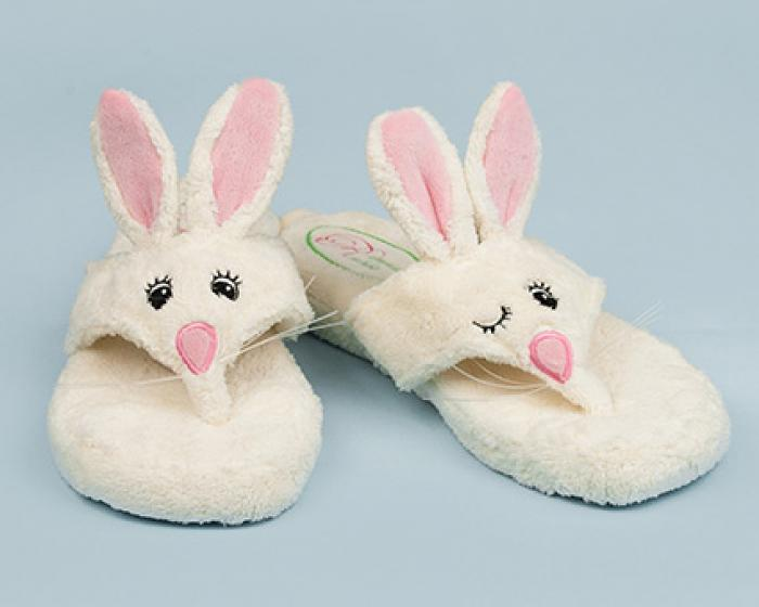 Flip Hop Spa Sandals Bunny Rabbit