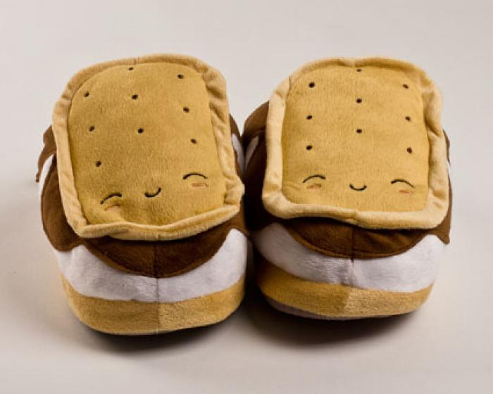 Heated Smores USB Slippers 2