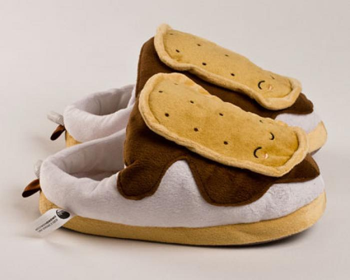 Heated Smores USB Slippers 3