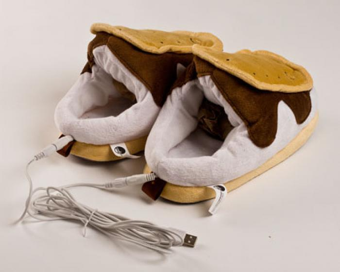 Heated Smores USB Slippers 4