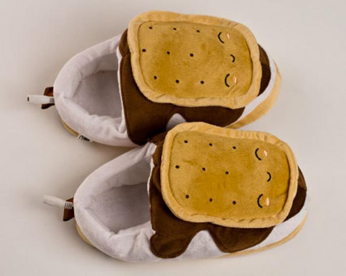 Heated Smores USB Slippers 6