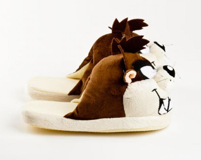 Taz Looney Tunes Character Slippers 2
