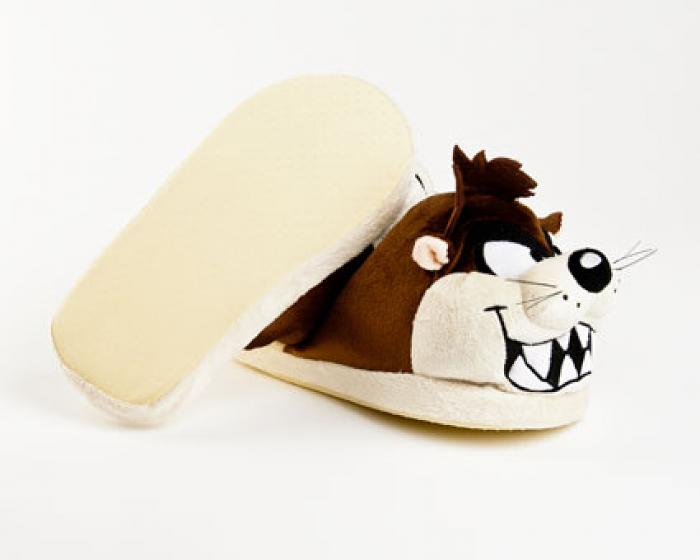 Taz Looney Tunes Character Slippers 3