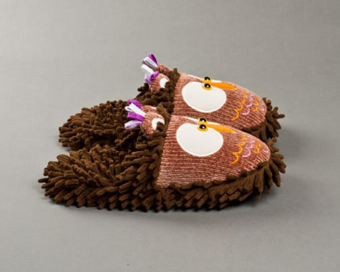Owl Slippers 2