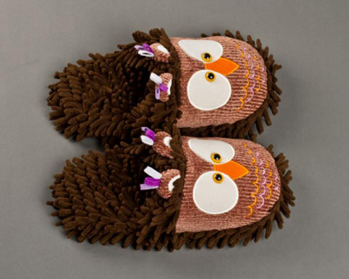 Owl Slippers 4