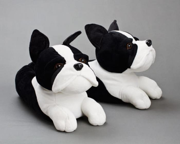 Boston Terrier Slippers 1
