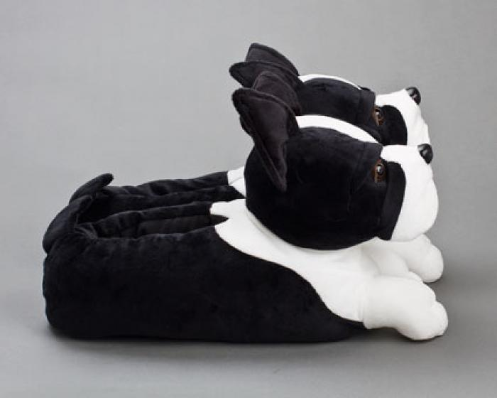 Boston Terrier Slippers 2
