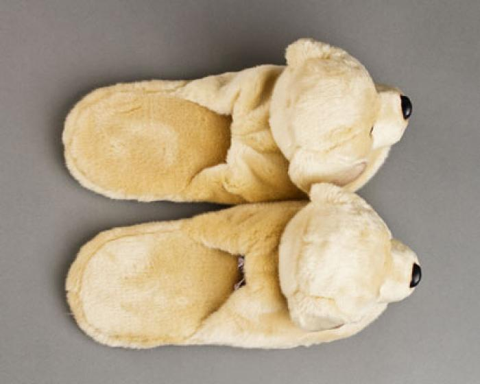 Yellow Labrador Dog Slippers 4