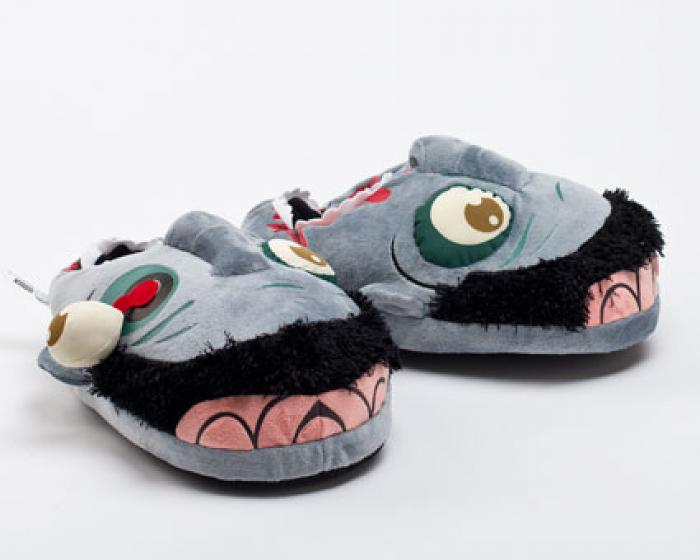 Blue Zombie Slippers 2