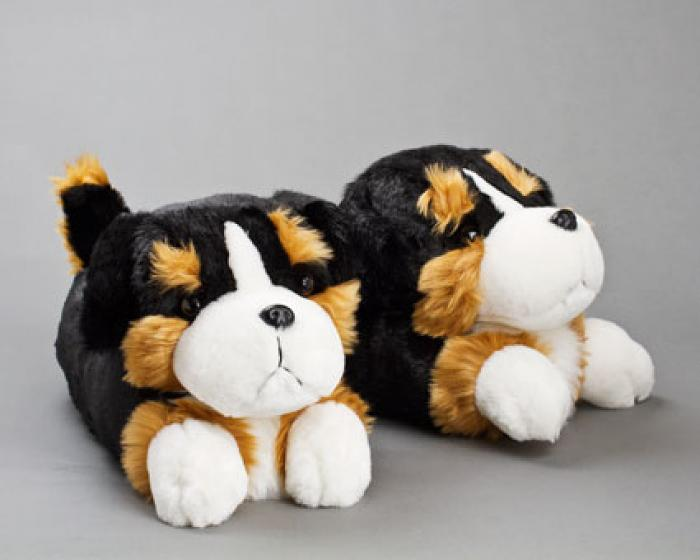 Bernese Mountain Dog Slippers 1