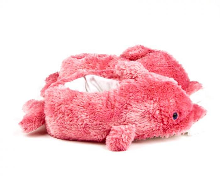 Pink Dolphin Animal Slippers 2