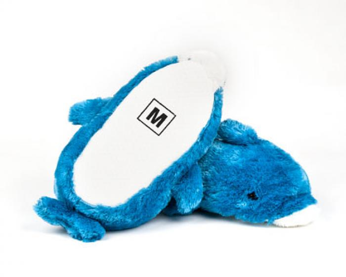 Children's Blue Dolphin Animal Slippers 3