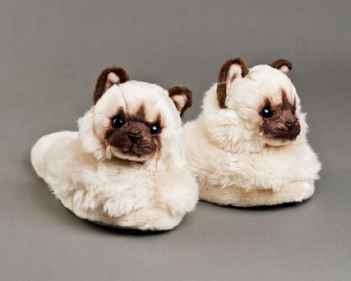 Himalayan Cat Slippers 1