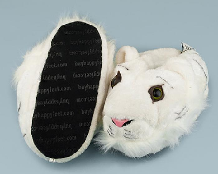 White Tiger Slippers 3