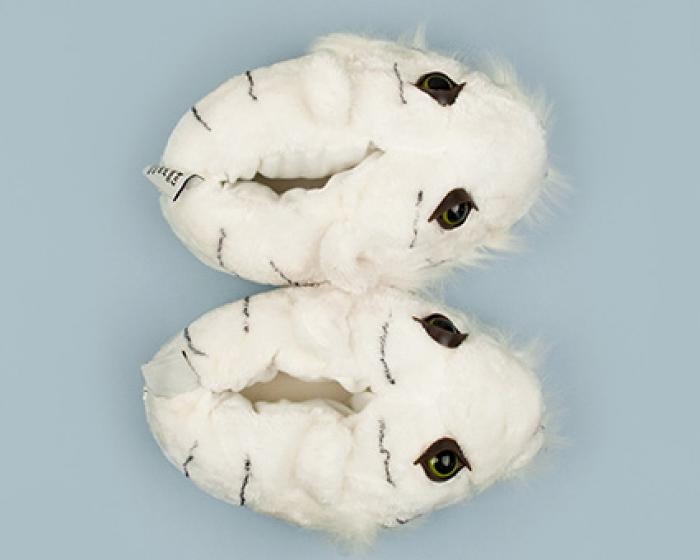 White Tiger Slippers 4