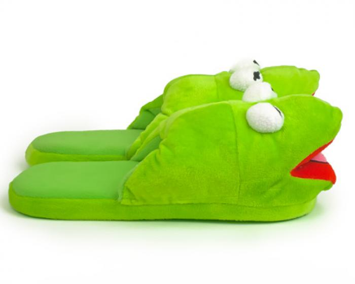 Kermit the Frog Slippers 2
