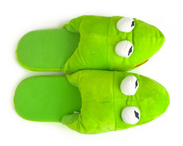 Kermit the Frog Slippers 4