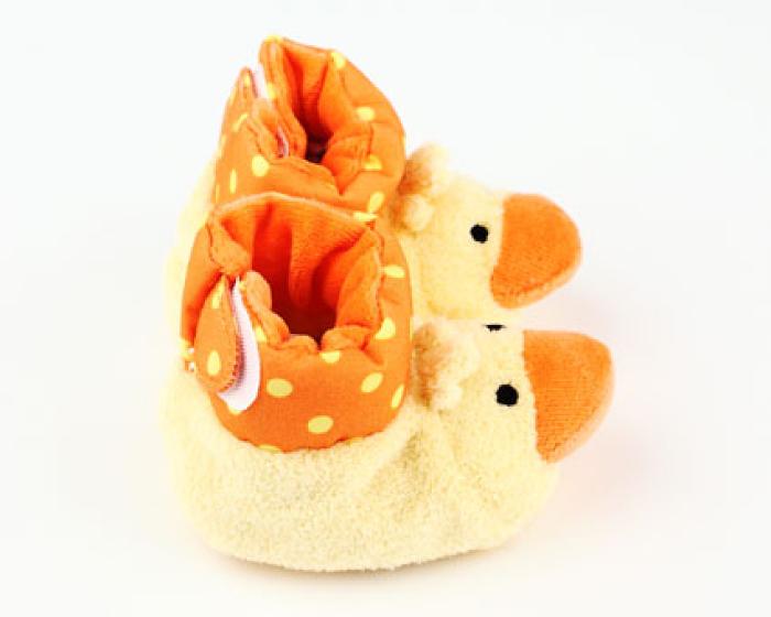 Duck Baby Booties 2