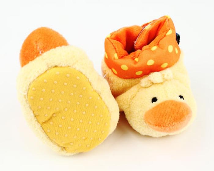 Duck Baby Booties 3