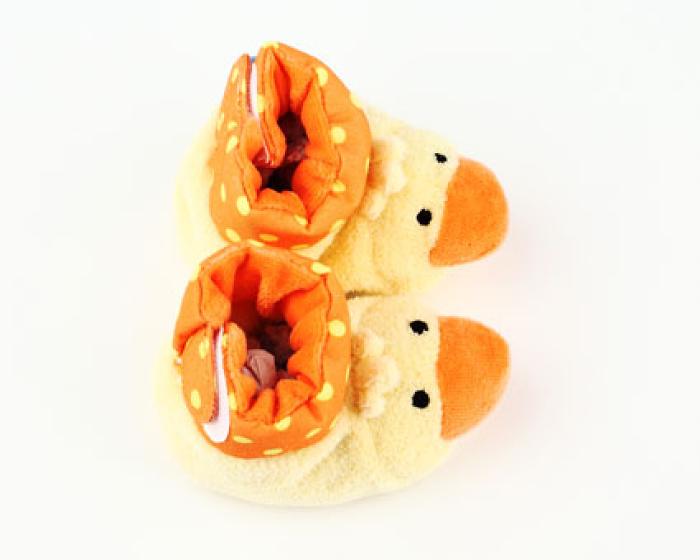 Duck Baby Booties 4