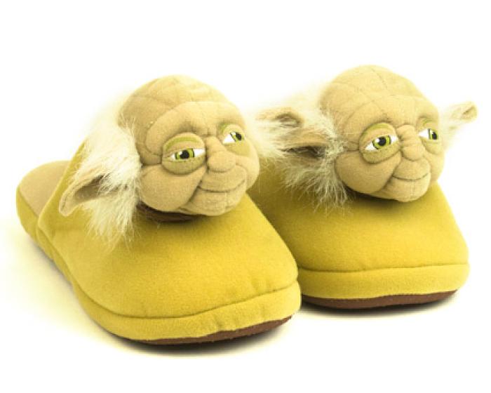 Yoda Slippers 1