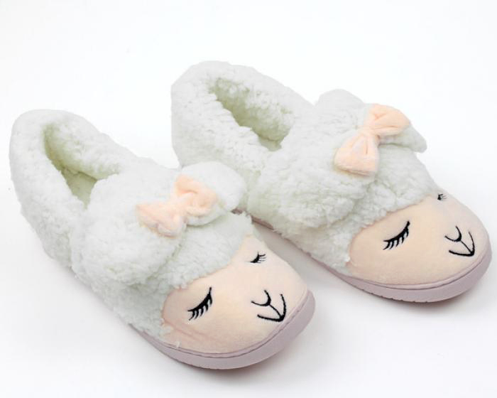 Lamb Slippers 3/4 View