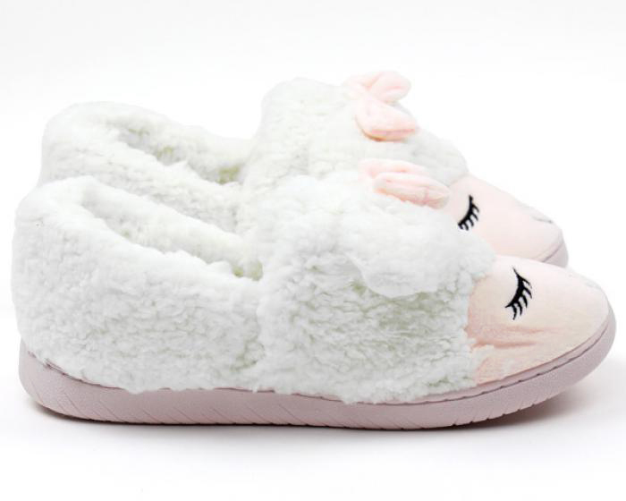 Lamb Slippers Side View