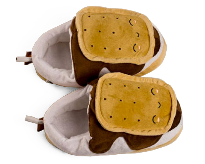 2307a126200b ... Heated Smores USB Slippers 6